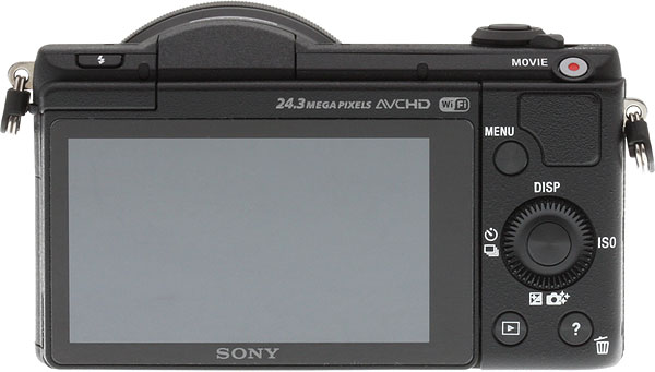 Sony A5100 Review -- rear view