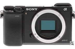image of the Sony Alpha ILCE-A6000 digital camera