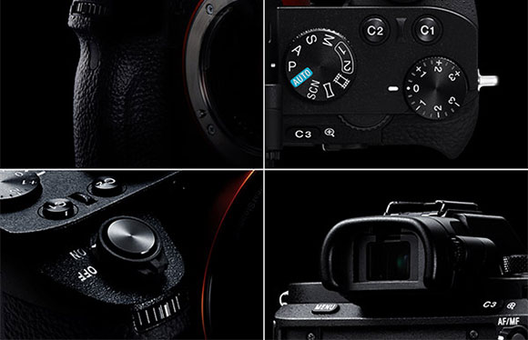 Sony A7 II Review -- controls