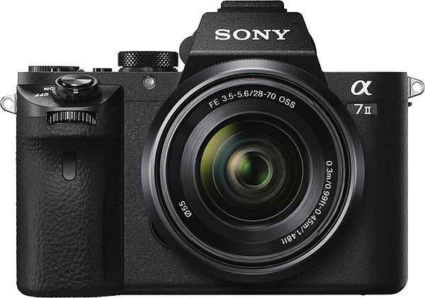 Sony A7 II Review -- front view