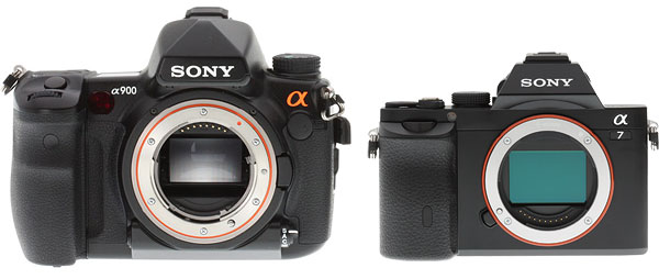 Sony A7 Review -- Compared to A99