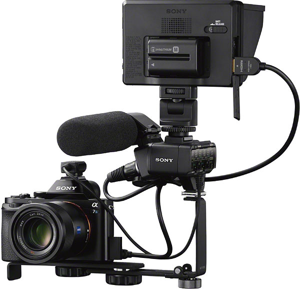 Sony A7S review -- Movie rig