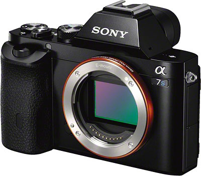 Sony A7S Review -- Front quarter view