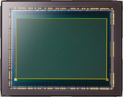 Sony A7S review -- Comparison of the Sony A7S' sensor size