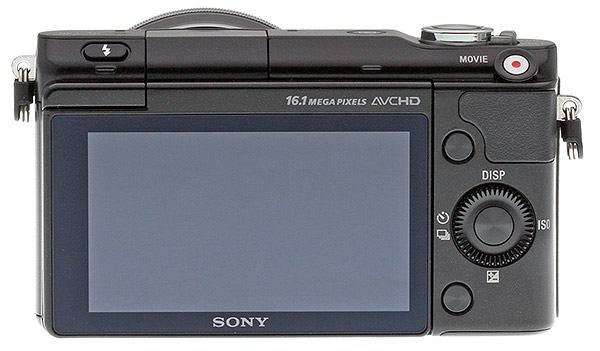 Sony NEX-3N Review -- Rear View