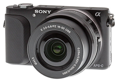 Sony NEX-3N Review -- Front Angle View