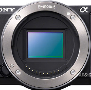 Sony NEX-5T Review -- Lens mount