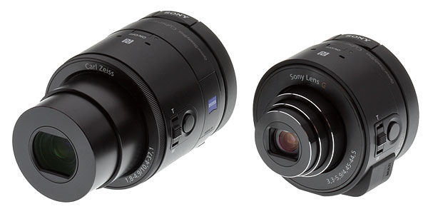 Sony QX10 review -- QX100 and QX10