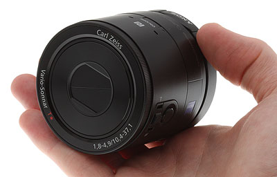 Sony QX100 review -- in hand