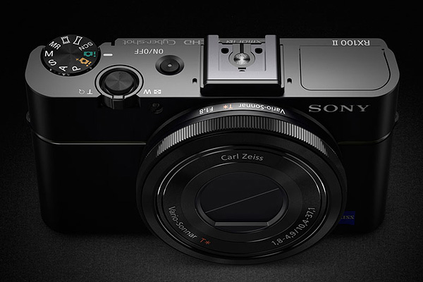 Sony RX100 II -- seen from above