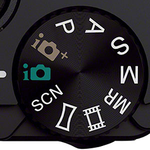 Sony RX100 II -- Mode dial