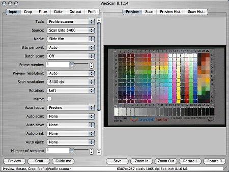 Digital Imaging Software Review: Vuescan 8 1