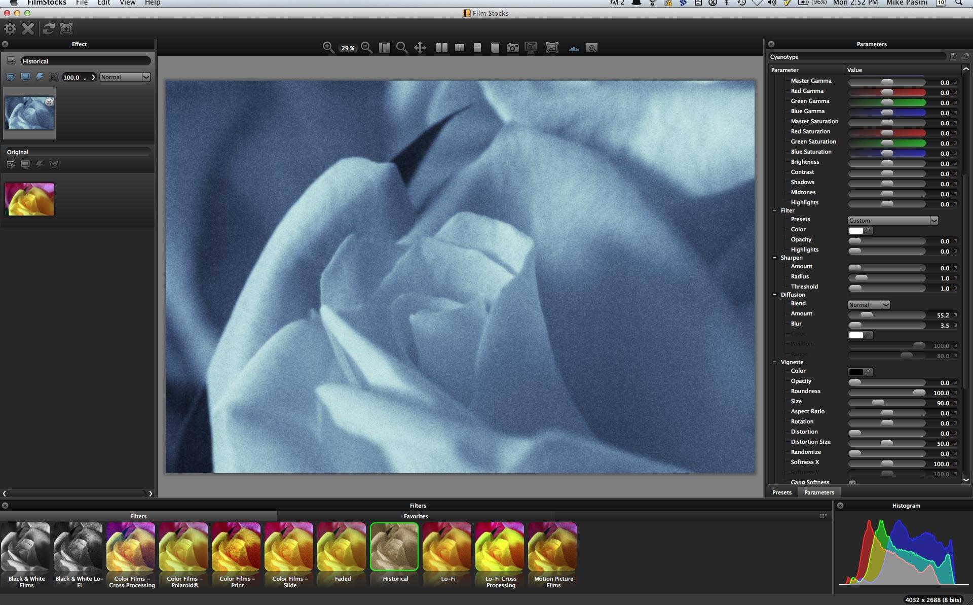 Digital Imaging Software Review: DFT Film Stocks