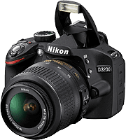 Nikon D3200 digital SLR. Copyright © 2012, The Imaging Resource. All rights reserved.
