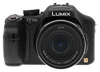 Panasonic Lumix DMC-FZ150 digital camera. Copyright © 2011, The Imaging Resource. All rights reserved.