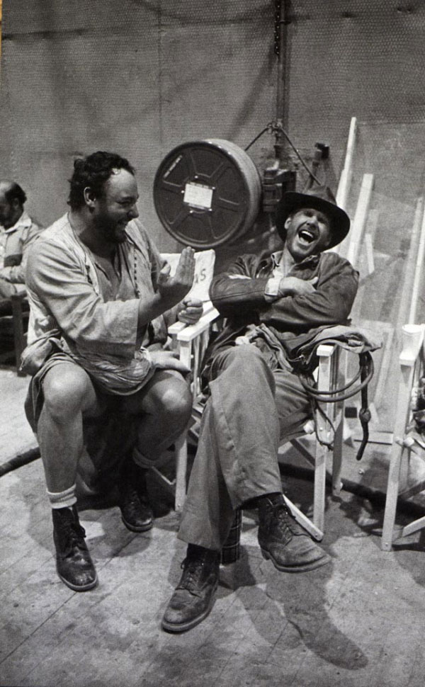 Compelling Behind The Scenes Photos From Raiders Of The