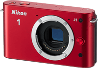 Nikon's J1 digital camera. Photo provided by Nikon Corp. Click to read our Nikon J1 review!