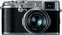 Fujifilm's FinePix X100 digital camera. Click here for our Fuji X100 review!