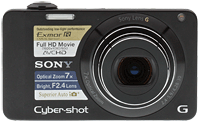 Sony Cyber-shot DSC-WX10 digital camera. Copyright © 2011, The Imaging Resource. All rights reserved.