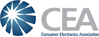 The Consumer Electronics Association's logo. Click here to visit the Consumer Electronics Association's website!