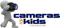 The Cameras for Kids Foundation's logo. Click here to visit the Cameras for Kids Foundation's website!