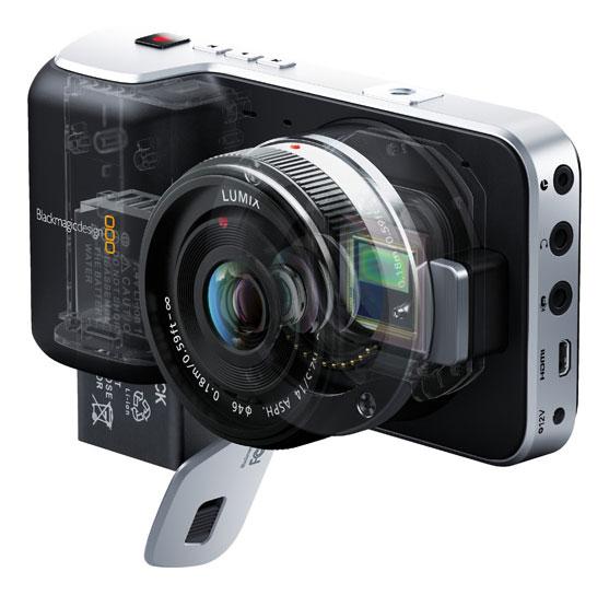 Blackmagic launches 4K global-shutter EF-mount camera, affordable