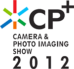 The CP+ 2012 logo. Click here to visit the CP+ 2012 website!
