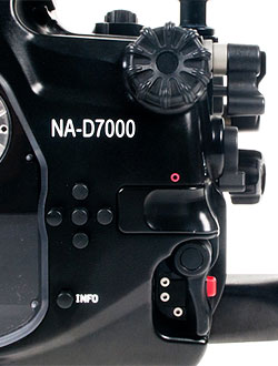 Nauticam's NA-D7000 housing. Photo provided by Nauticam USA. Click for a bigger picture!