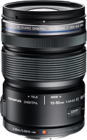 The Olympus M. Zuiko Digital ED 12-50mm f/3.5-6.3 EZ lens. Photo provided by Olympus Imaging America Inc.