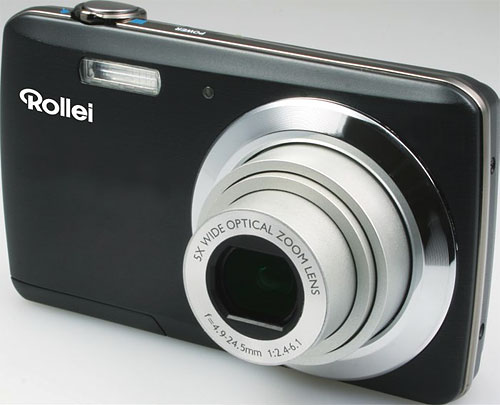 Rollei's Powerflex 500 digital camera. Photo provided by RCP Technik GmbH & Co. KG. Click for a bigger picture!