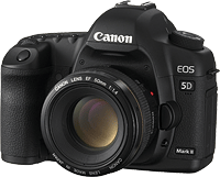 Canon's EOS 5D Mark III digital SLR. Click for our Canon EOS 5D Mark III preview!