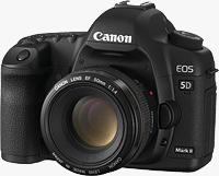 Canon's EOS 5D Mark II digital SLR. Photo provided by Canon.