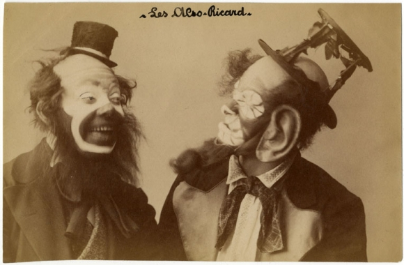 Send in the clowns: Early 20th century photographs serve ...