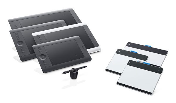 Wacom rebrands pen tablets, launches a whopping eight new models