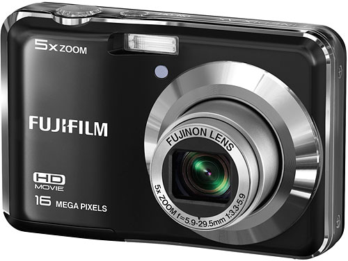 The Fuji AX550 is the most affordable of today's announcements, coming in at US$90. Image provided by Fujifilm North America Corp. Click for a bigger picture!