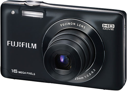 The Fuji JX580 has a larger LCD panel and higher resolution than the JX500. Image provided by Fujifilm North America Corp. Click for a bigger picture!