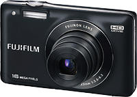 The Fuji JX580 has a larger LCD panel and higher resolution than the JX500. Image provided by Fujifilm North America Corp.