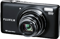 The Fuji T350 boosts sensor resolution to 16 megapixels. Image provided by Fujifilm North America Corp.