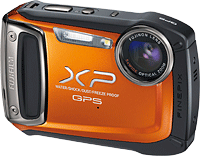 Fuji's FinePix XP150 digital camera. Photo provided by Fujifilm. Click for our Fuji XP150 preview!