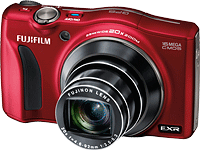 The Fujifilm F770EXR adds raw file support, and a GPS receiver. Image provided by Fujifilm North America Corp.