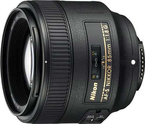 The AF-S NIKKOR 85mm f/1.8G ships from March 2012. Photo provided by Nikon Inc. Click for a bigger picture!
