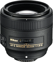The AF-S NIKKOR 85mm f/1.8G ships from March 2012. Photo provided by Nikon Inc.