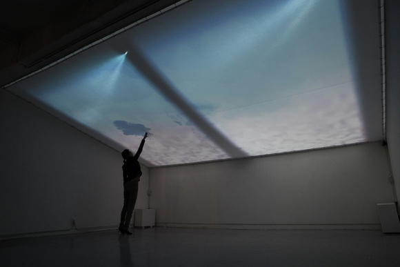 Interactive Art Installation Lets You Touch The Sky Video