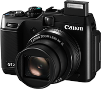 Canon's PowerShot G1 X digital camera. Photo provided by Canon USA Inc. Click to read our Canon G1 X preview!