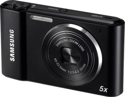 Samsung's ST66 digital camera. Photo provided by Samsung Electronics Co. Ltd.