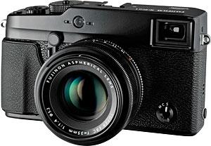 Fujifilm's X-Pro1 compact system camera. Photo provided by Fujifilm North America Corp. Click for a bigger picture!