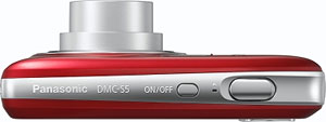 The Panasonic Lumix DMC-S5 digital camera. Photo provided by Panasonic Corp. Click for a bigger picture!