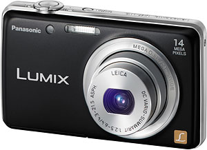 Panasonic's Lumix DMC-FH6 digital camera. Photo provided by Panasonic Corp. Click for a bigger picture!