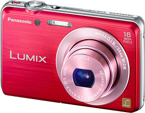 Panasonic's Lumix DMC-FH8 digital camera. Photo provided by Panasonic Corp. Click for a bigger picture!
