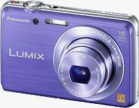 Panasonic's Lumix DMC-FH8 digital camera. Photo provided by Panasonic Corp.